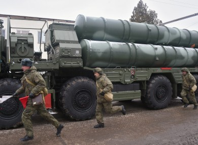 File photo of a S-400 system in Crimea.
