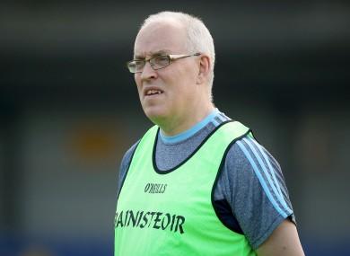 Dublin U20 boss Tom Gray.