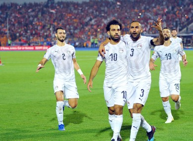 Mo Salah is hoping to lead hosts Egypt to victory.