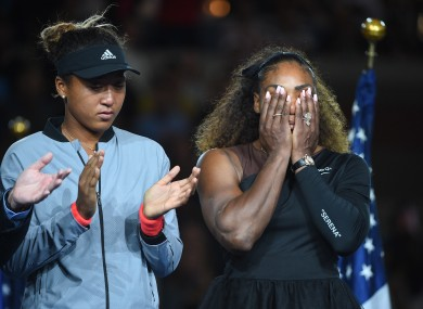 Osaka's big moment was overshadowed by Williams' war of words with the umpire.