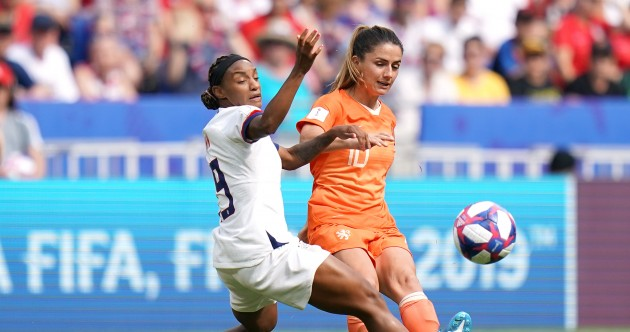 As it happened: USA v Netherlands, Women's World Cup final