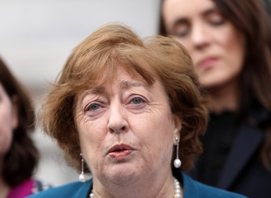 The Social Democrats co-leader Catherine Murphy.
