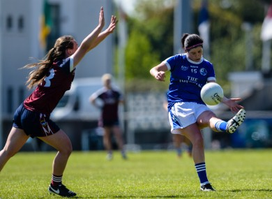 Aisling Maguire fired 1-5 for Cavan today (file pic, 2017).