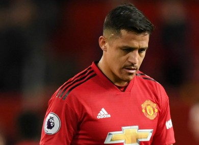 Alexis Sanchez was linked with a move away from Man United over the summer.