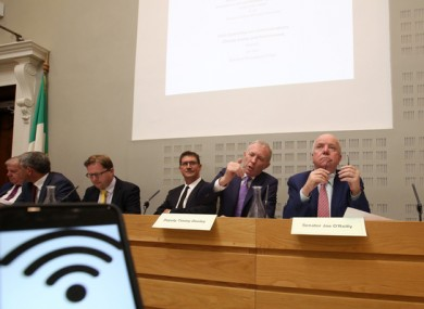 Launch of the Oireachtas committee's report on the National Broadband Plan.