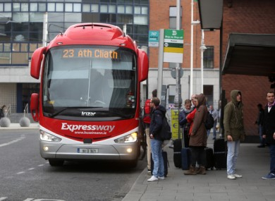 Bus Éireann have apologised for the incident last week.