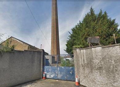 Outside the former Magdalene Laundry site.