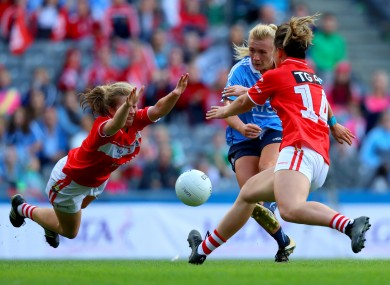 Rowe led the charge for Dublin in last year's All-Ireland final.