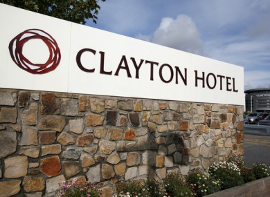 Clayton Hotel, Liffey Valley in Dublin.