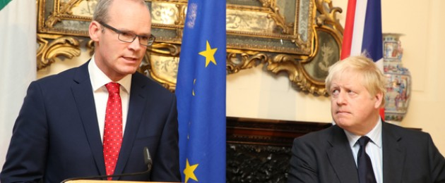 Simon Coveney spoke with Boris Johnson by phone today.