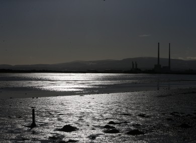 A view of Dublin Bay from Clontarf.