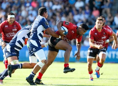 Savea in action against Agen on Saturday.