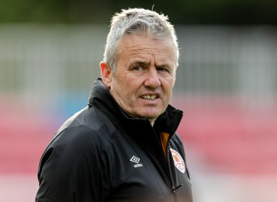 Kenny's side fell 3-1 to UCD in the FAI Cup last night.