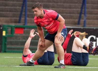 Munster academy prop James French starts on Friday.