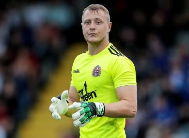 Bohemians goalkeeper James Talbot impressed.