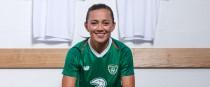 Ireland captain Katie McCabe.