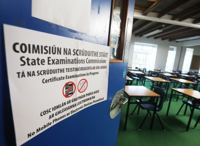 71 students not given Leaving Cert results over fears they