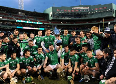 Limerick are the holders after winning in Fenway Park last year.