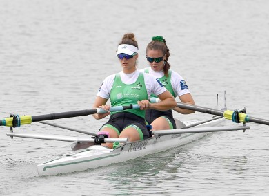 Pictured together at the 2019 World Rowing Championships.