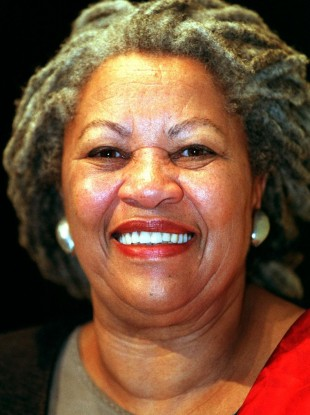 Author Toni Morrison who passed away yesterday.
