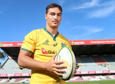 Jordan Petaia missed most of the Super Rugby season due to injury.
