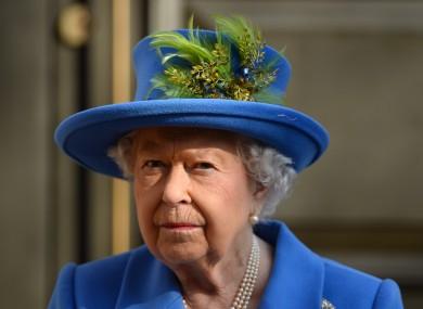 Queen Elizabeth II earlier this year.