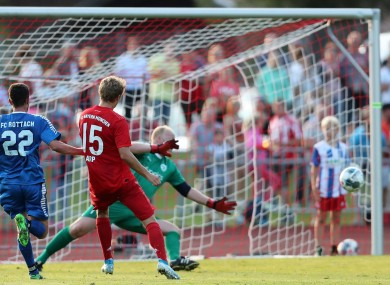 Bayern Munich were far too strong for  FC Rottach-Egern.