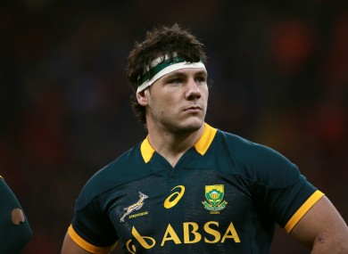Coetzee will go under the knife on Wednesday.