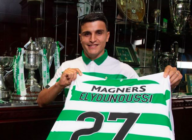 Elyounoussi will spend this season on loan at Celtic.