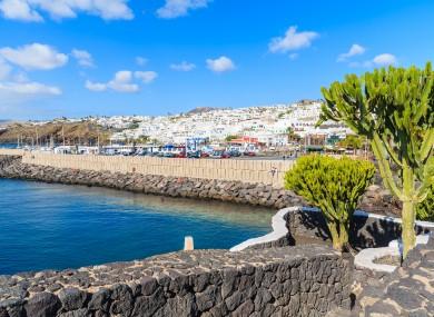 File photo - Puerto del Carmen, Lanzarote
