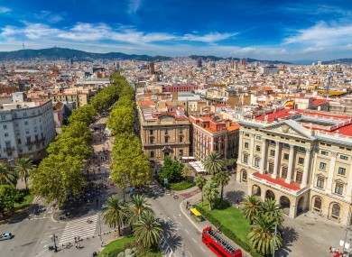 Barcelona is Spain's second most populated city.