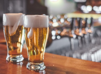 More money was spent on beer each month than any other beverage.