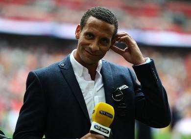 Ferdinand was speaking on BT Sport on Saturday.