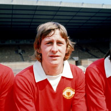 Daly made 111 appearances at Old Trafford between 1973 and 1977.