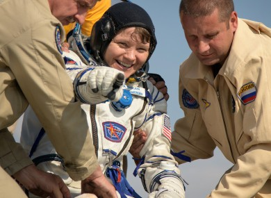 Expedition 59 NASA astronaut Anne McClain.