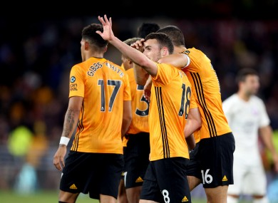 It was another routine win for Wolves to ensure their progression in the Europa League.