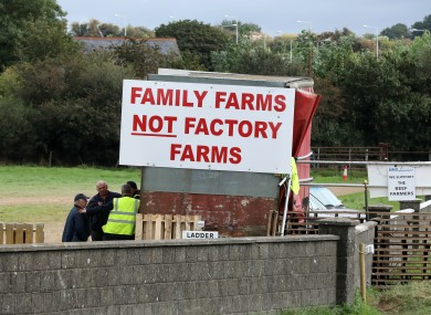 Farmers have refused to stand down protests.