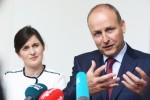 The poll offers good news for Fianna Fáil leader Micheál Martin.