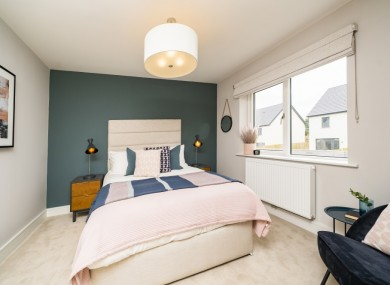 A bedroom in Glenveagh Homes' Ledwill Park.
