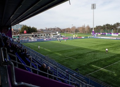 Donnybrook has a capacity of 6,000.