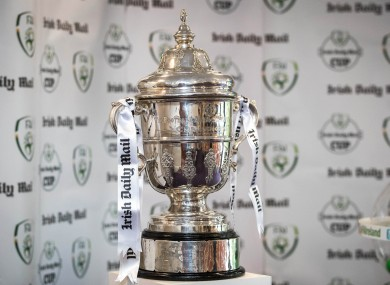 The FAI Cup (file pic).
