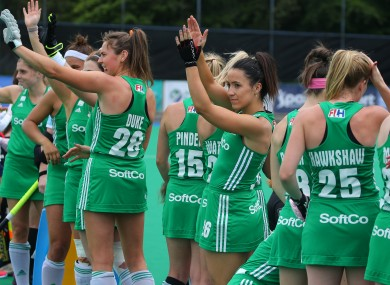 Ireland women remain eighth in the world rankings.