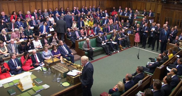 As It Happened: Boris Johnson loses his majority as he addresses MPs for second time as PM