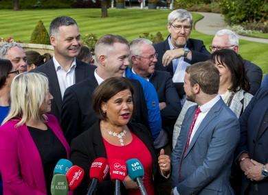 McDonald said the donation was a clear statement against the political establishment.