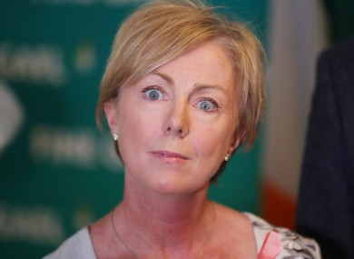 Social Protection minister at the Fine Gael think-in in Cork today.