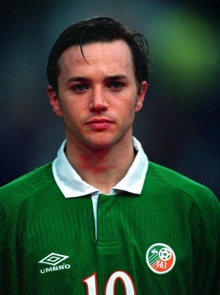 David Connolly scored nine goals in 41 caps for Ireland.
