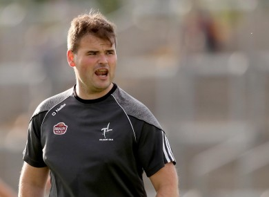 Davy Burke guided the Kildare U20 side to glory in 2018.