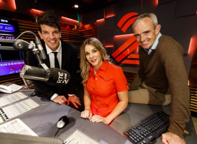 Donncha O'Callaghan, Marie Crowe and Ruby Walsh.