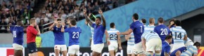 France dance dangerously close to defeat after glorious opening against Argentina