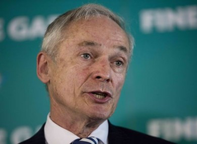 Richard Bruton announced the plans at the Fine Gael think-in.